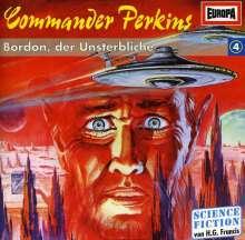 Commander Perkins: 04: Bordon, Der Unsterbliche, CD