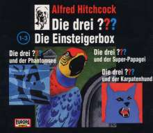 Die drei ??? - Einsteiger-Box (Limited Edition), 3 CDs