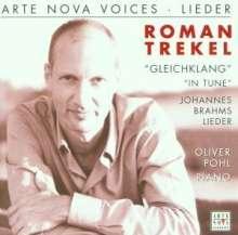 Roman Trekel singt Brahms-Lieder, CD
