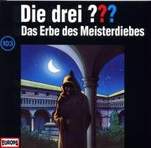 Die drei ??? (Folge 103) - Das Erbe des Meisterdiebes, CD