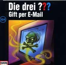Die drei ??? (Folge 104) - Gift per e-mail, CD
