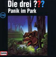 Die drei ??? (Folge 110) - Panik im Park, CD