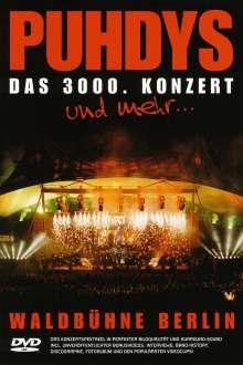Puhdys: Live - Das 3000. Konzert/Waldbühne Berlin, DVD