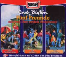 Fünf Freunde (Box 001) erleben Ihre ersten Abenteuer, 3 CDs