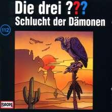 Die drei ??? (Folge 112) - Schlucht der Dämonen, CD
