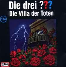 Die drei ??? (Folge 114) - Die Villa der Toten, CD