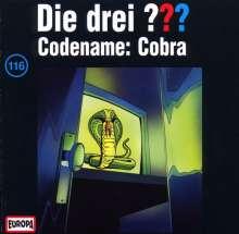Die drei ??? (Folge 116) - Codename: Cobra, CD