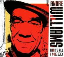 Andy Williams: That's All I Need, CD