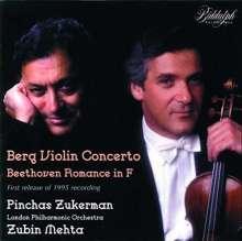"""Alban Berg (1885-1935): Violinkonzert """"Dem Andenken eines Engels"""", 2 CDs"""
