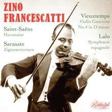 Zino Francescatti - Violinkonzerte, CD