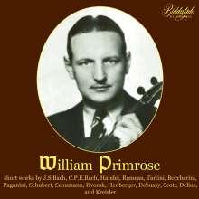 William Primrose - Short Pieces, CD