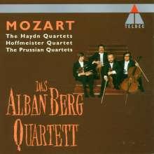 Wolfgang Amadeus Mozart (1756-1791): Streichquartette Nr.14-23, 4 CDs