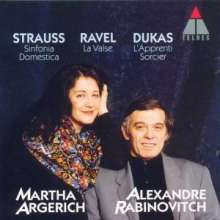 Martha Argerich & Alexandre Rabinovitch, CD