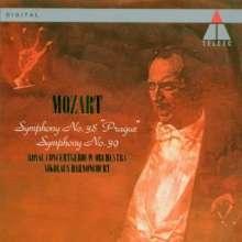 Wolfgang Amadeus Mozart (1756-1791): Symphonien Nr.38 & 39, CD