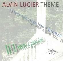 Alvin Lucier (geb. 1931): Theme, CD