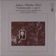 Johann Sebastian Bach (1685-1750): Orchestersuiten Nr.1-4 (120g), 2 LPs