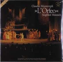 Claudio Monteverdi (1567-1643): L'Orfeo (Neufassung nach dem Urtext) (120g), 3 LPs