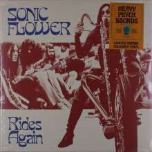 Sonic Flower: Rides Again (Limited Edition) (Transparent Red Vinyl), LP