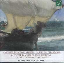 Andrea Corongiu - Mediterranean Guitar Sonatas, CD