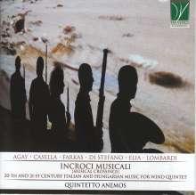 Quintetto Anemos - Incroci Musicali, CD