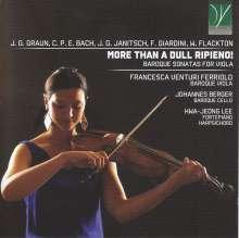 Francesca Venturi Ferriolo - More Than A Dull Ripieno, CD
