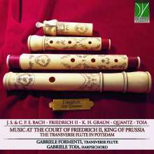 Music at the Court of Friedrich II King of Prussia - The Travers Flute in Potsdam, CD