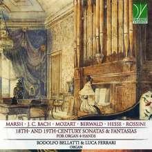 Sonaten & Fantasien des 18. & 19.Jahrhunderts für Orgel 4-händig, CD