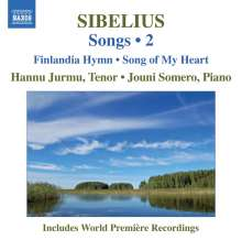 Jean Sibelius (1865-1957): Lieder Vol.2, CD