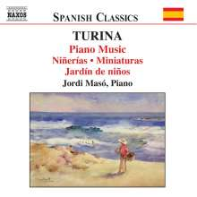 Joaquin Turina (1882-1949): Klavierwerke Vol.4, CD