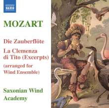 "Joseph Heidenreich (1753-1821): Harmoniemusik nach Mozarts ""Zauberflöte"", CD"