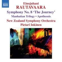 "Einojuhani Rautavaara (1928-2016): Symphonie Nr.8 ""The Journey"", CD"