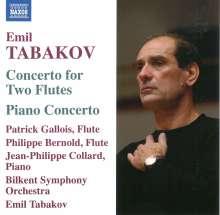 Emil Tabakov (geb. 1947): Klavierkonzert, CD