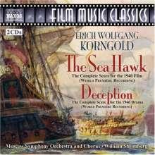 Erich Wolfgang Korngold (1897-1957): The Sea Hawk (Filmmusik), 2 CDs