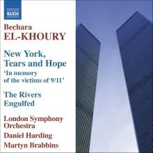 Bechara El-Khoury (geb. 1957): New York,Tears and Hope für Orchester, CD