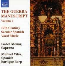 The Guerra Manuscript Vol.1, CD