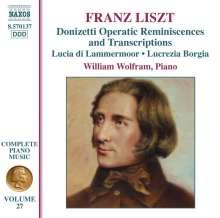 Franz Liszt (1811-1886): Klavierwerke Vol.27, CD