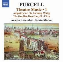 Henry Purcell (1659-1695): Musik für das Theater Vol.1, CD