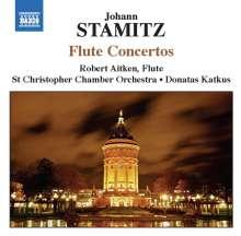 Johann Stamitz (1717-1757): Flötenkonzerte in C,D,D,G, CD