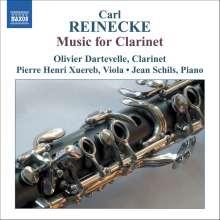 Carl Heinrich Reinecke (1824-1910): Kammermusik mit Klarinette, CD
