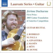 Jerome Ducharme- Guitar Recital, CD