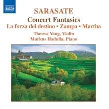 Pablo de Sarasate (1844-1908): Musik für Violine & Klavier Vol.2, CD
