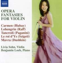 Livia Sohn - Opera Fantasies für Violine, CD