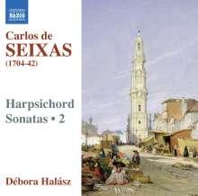 Jose Antonio Carlos de Seixas (1704-1742): Cembalosonaten Vol.2, CD