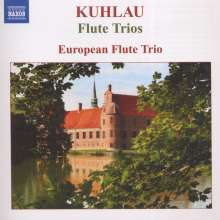 Friedrich Kuhlau (1786-1832): Flötentrios op.13 Nr.1-3, CD
