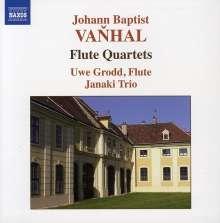 Johann Baptist (Jan Krtitel) Vanhal (1739-1813): Flötenquartette op.7 Nr.2,3,6, CD