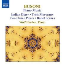 Ferruccio Busoni (1866-1924): Klavierwerke Vol.3, CD
