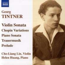 Georg Tintner (1917-1999): Sonate für Violine & Klavier, CD