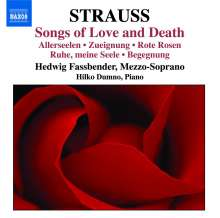 """Richard Strauss (1864-1949): Lieder """"Songs of Love and Death"""", CD"""