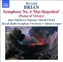 Havergal Brian (1876-1972): Symphonien Nr.4 & 12, CD