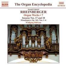 Josef Rheinberger (1839-1901): Sämtliche Orgelwerke Vol.7, CD